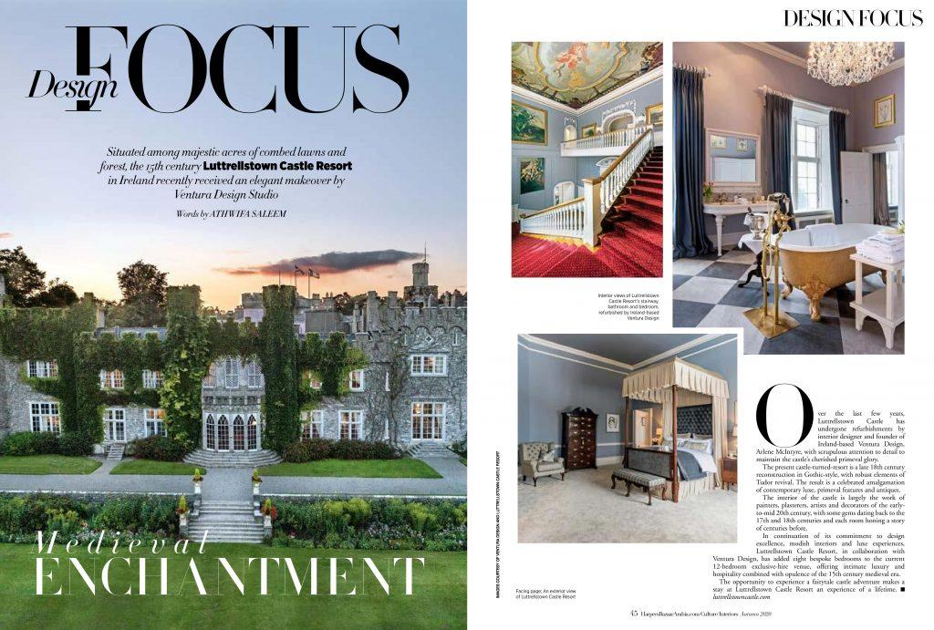 Luttrellstown Castle Resort makeover by Ventura Design